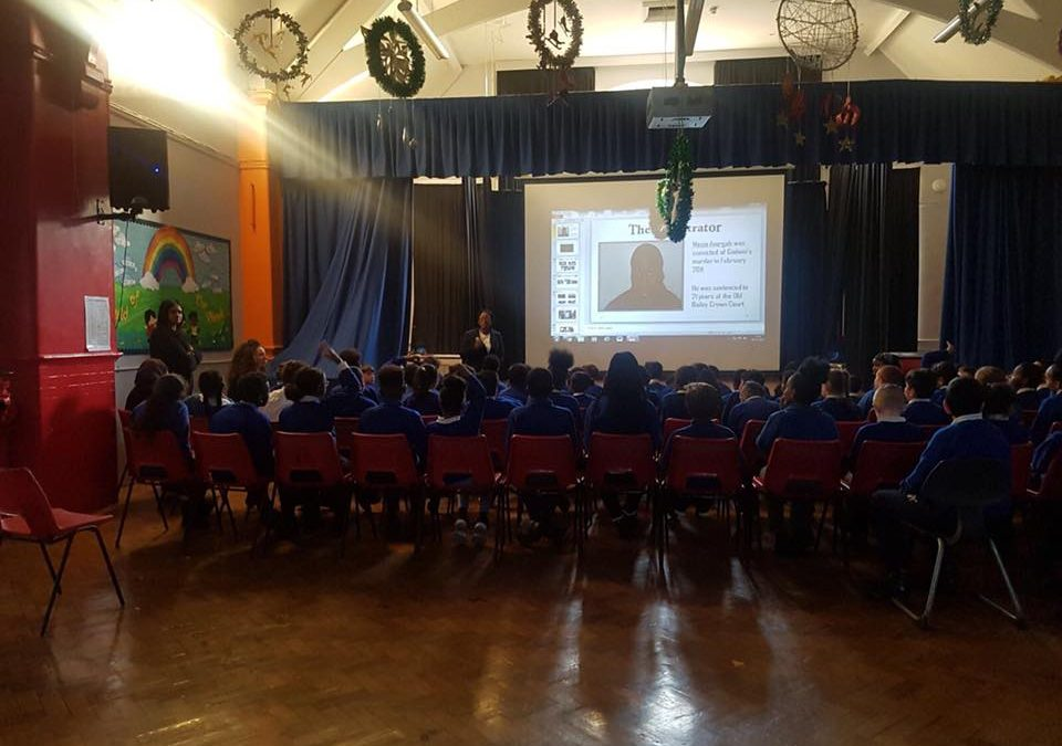 Knife Crime Awareness in Primary Schools