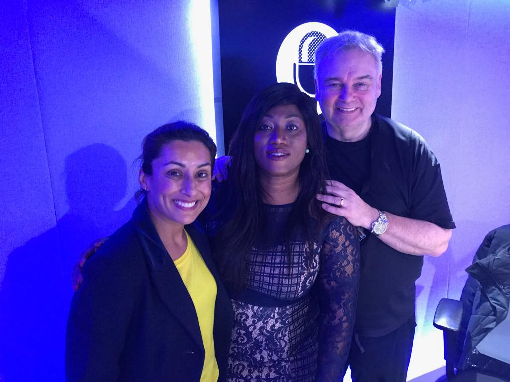 Yvonne meets Eamonn and Saira