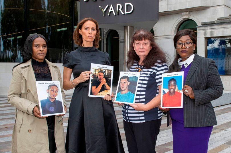 Grieving mothers unite against knife crime